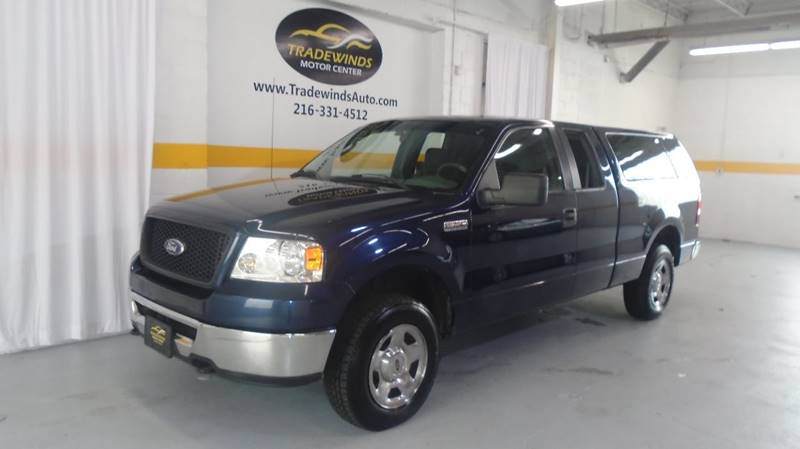 2006 FORD F150 XLT for sale at Tradewinds Motor Center