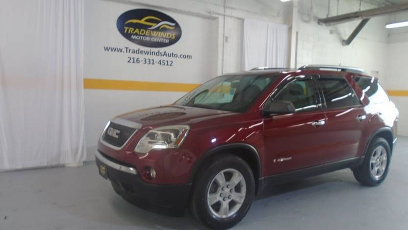 2008 GMC ACADIA SLE for sale at Tradewinds Motor Center