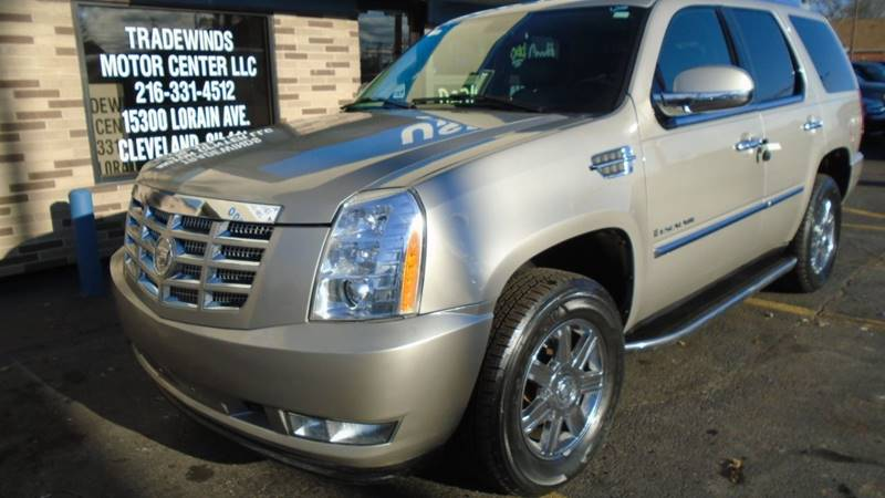 2007 CADILLAC ESCALADE LUXURY for sale at Tradewinds Motor Center