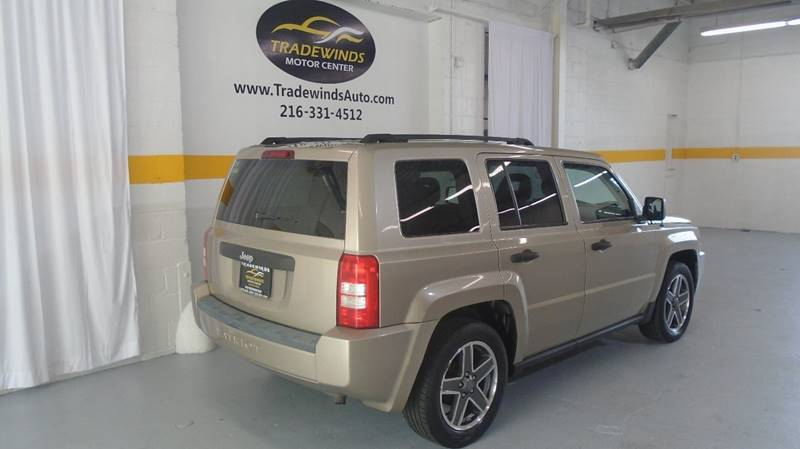 2009 JEEP PATRIOT SPORT for sale at Tradewinds Motor Center