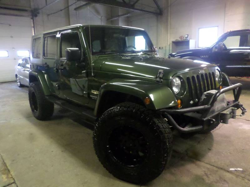2008 JEEP WRANGLER UNLIMI SAHARA for sale at Action Motors