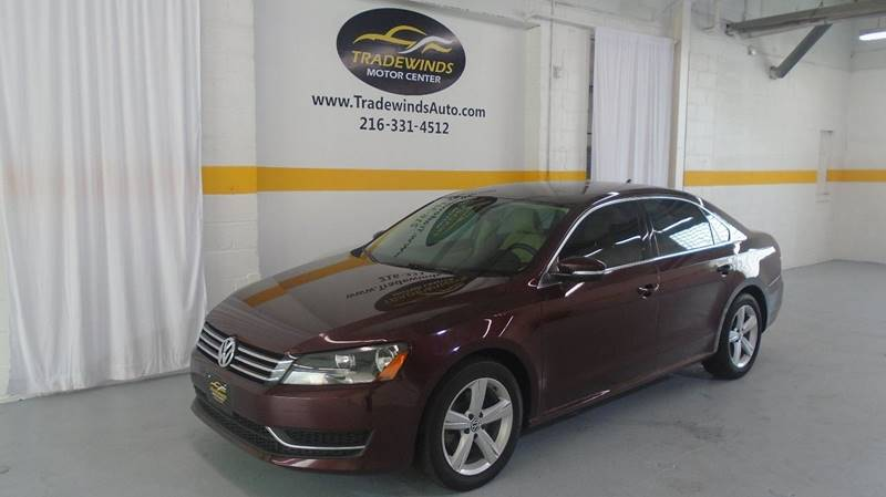 2014 VOLKSWAGEN PASSAT SE for sale at Tradewinds Motor Center