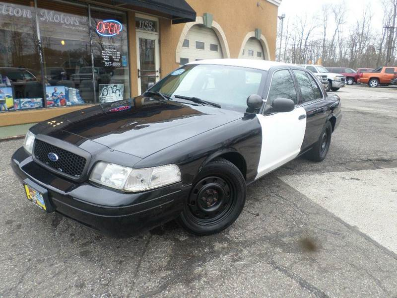 2011 FORD CROWN VICTORIA POLICE INTERCEPTOR for sale at Action Motors
