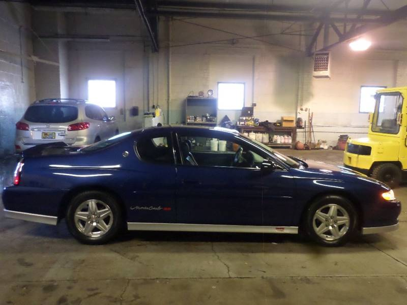 2003 CHEVROLET MONTE CARLO SS for sale at Action Motors