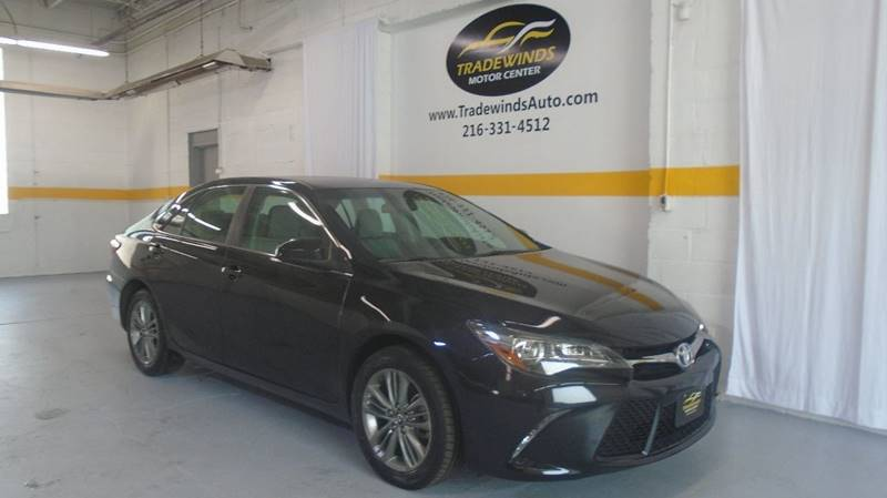 2017 TOYOTA CAMRY SE for sale at Tradewinds Motor Center
