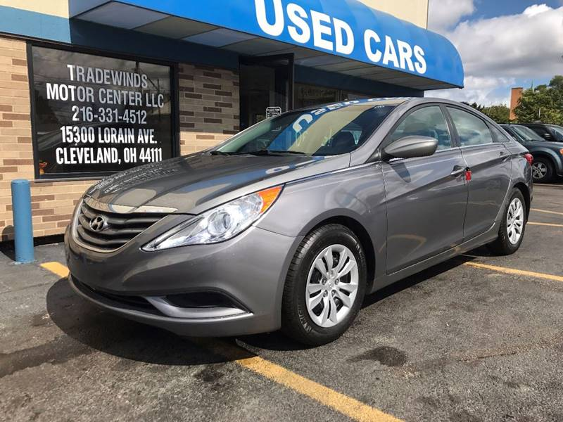 2011 HYUNDAI SONATA GLS for sale at Tradewinds Motor Center