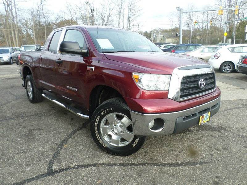 2008 TOYOTA TUNDRA DOUBLE CAB for sale at Action Motors