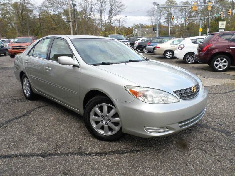 2002 TOYOTA CAMRY LE for sale at Action Motors