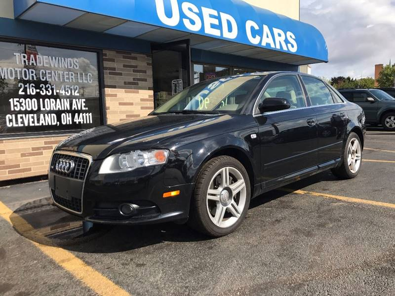 2008 AUDI A4 2.0T QUATTRO SLINE for sale at Tradewinds Motor Center
