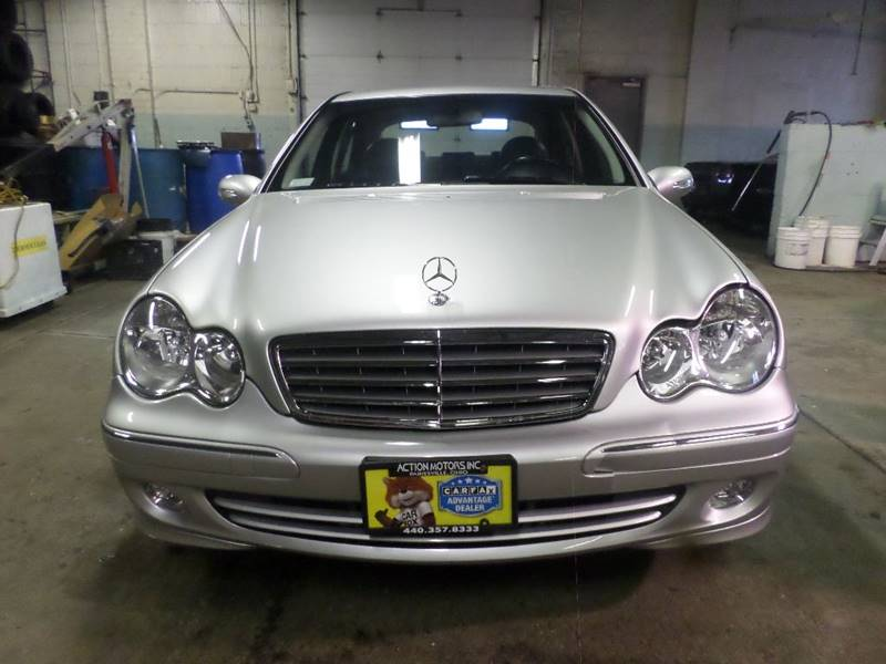 2005 MERCEDES-BENZ C-CLASS C320 4MATIC for sale at Action Motors