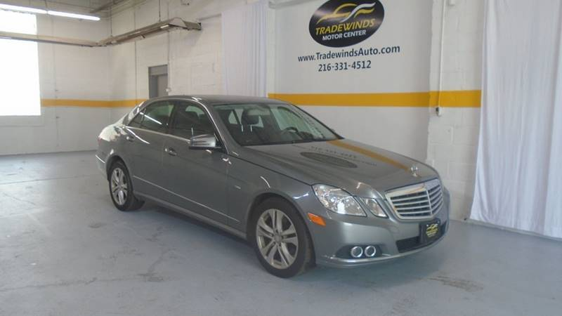 2011 MERCEDES-BENZ E-CLASS E350 BLUETEC for sale at Tradewinds Motor Center