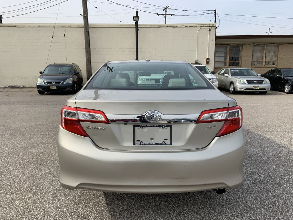2014 TOYOTA CAMRY L for sale at Luxury Motors