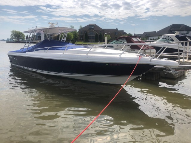 2000 Intrepid 366  for sale at True North Yacht Sales & Service