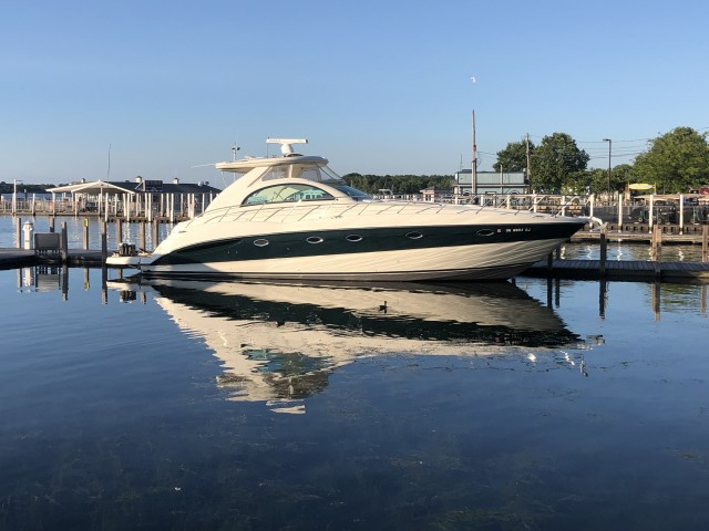 2002 Maxum 4200 Sport Yacht  for sale at True North Yacht Sales & Service