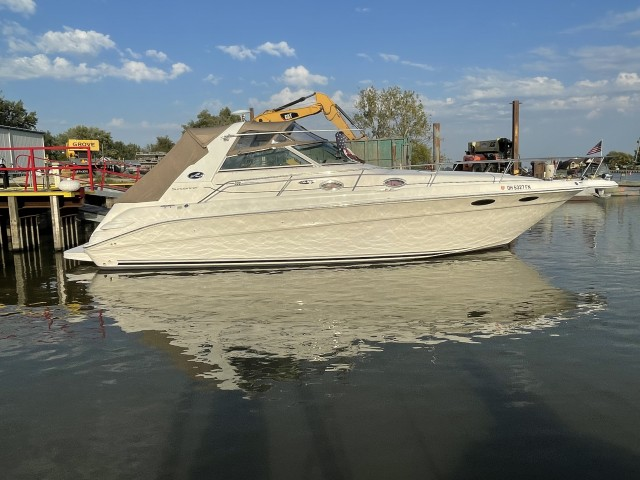 1999 Sea Ray 330 Sundancer  for sale at True North Yacht Sales & Service